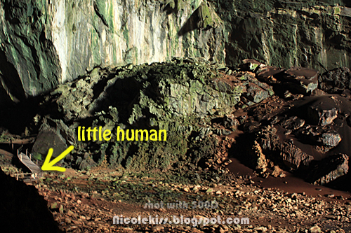 little human in deer cave