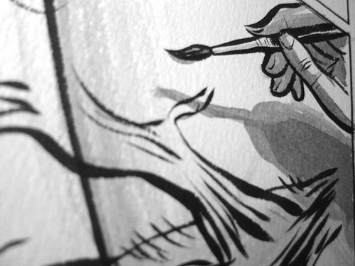 Detail shot, page Two