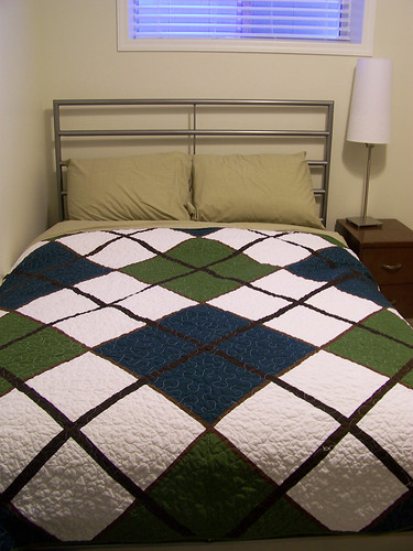 A Bed Sized Quilt!