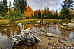 Autumn Escape (James Neeley) Tags: california autumn landscape fallcolor fusion bishop northlake 5xp jamesneeleyexposure