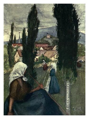 011-Alrededores de la ciudad de Pécs-Hungary and the Hungarians 1908- Bovill W.B Forster