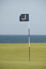 Dunhill Flag (leonharris) Tags: golf standrews 2010 kingsbarns dunhilllinkschampionships