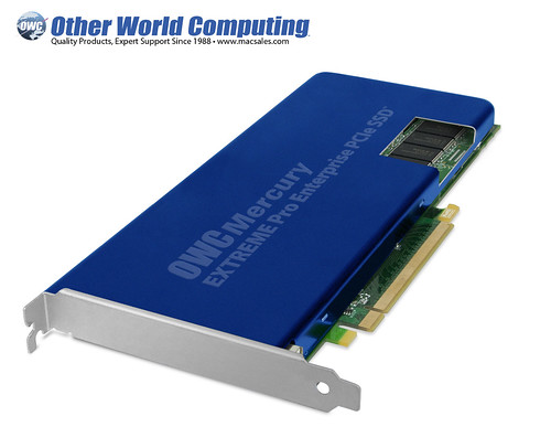 OWC Developing PCIe SSD To Utilize New SandForce Processor