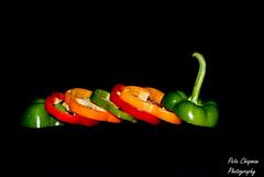 Peppers (◄Chapy►) Tags: red orange green pepper bigmomma flickrchallengegroup flickrchallengewinner beginnerdigitalphotographychallengeswinner pregamewinner petechapy