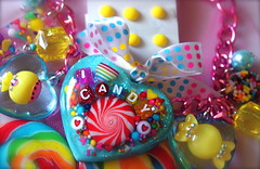 I Love Candy Necklace (athinalabella1) Tags: hello pink paris cute glass yellow cake marie glitter hearts french costume spring yummy rainbow ribbons colorful neon yum candy heart princess sweet bears kitty kitsch funky jewelry mama pop pearls sugar ring lolita cupcake fantasy bakery bow kawaii valentines cameo glam antoinette ribbon chic bling sweethearts etsy dots lollipop gummi licorice drama suga tulle couture bows marieantoinette parisian gumballs whimsical frilly candyland conversationhearts pedestal neovictorian shabby frou girlygirl cupcakesprinkles confettisprinkles athinalabella