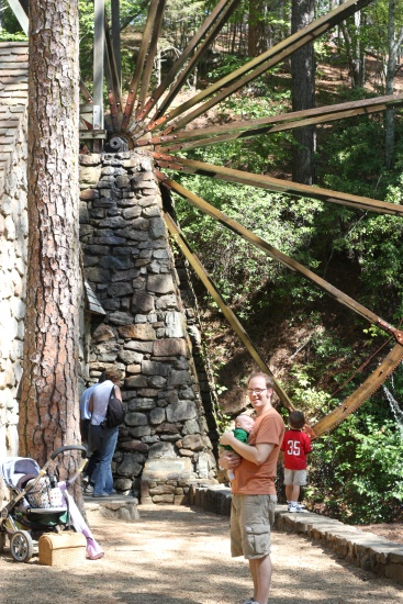 Mountain Day - waterwheel 2