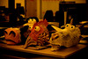 Animal heads (tom chandler) Tags: animals eyes puppets masks heads