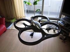 AR.Drone test flight