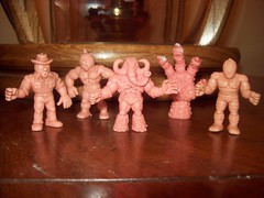 auction (rbatina) Tags: pink men mike vintage toy toys october little action muscle auction retro plastic figurines figures 8th 2010 groveport rubbertoe brandly
