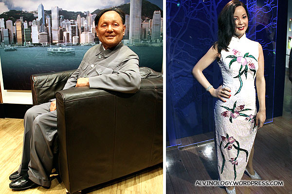 """Two """"邓"""", Deng Xiaoping (邓小平) and Teresa Teng (邓丽君) - both had profound influence on modern China in their own ways"""