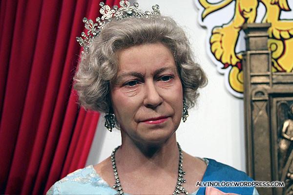 Broody Queen Elizabeth II