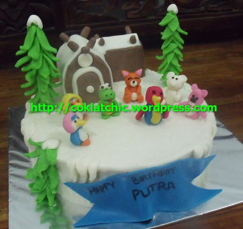 Cake, cup cake pororo and friends – PUTRA