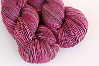 'cabernet' on merino/silk single ply