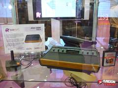 Atari 2600 con juego de ET