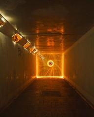 Tinfoil subway (- Hob -) Tags: lightpainting subway raw tinfoil steelwool lightjunkies