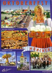 Postcard from Berlin - Oktoberfest