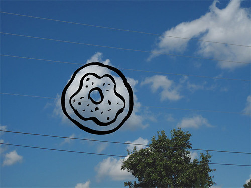 Cloud can also be a donut, too.