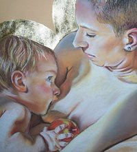 Facebook deletes breastfeeding by Kate Hansen