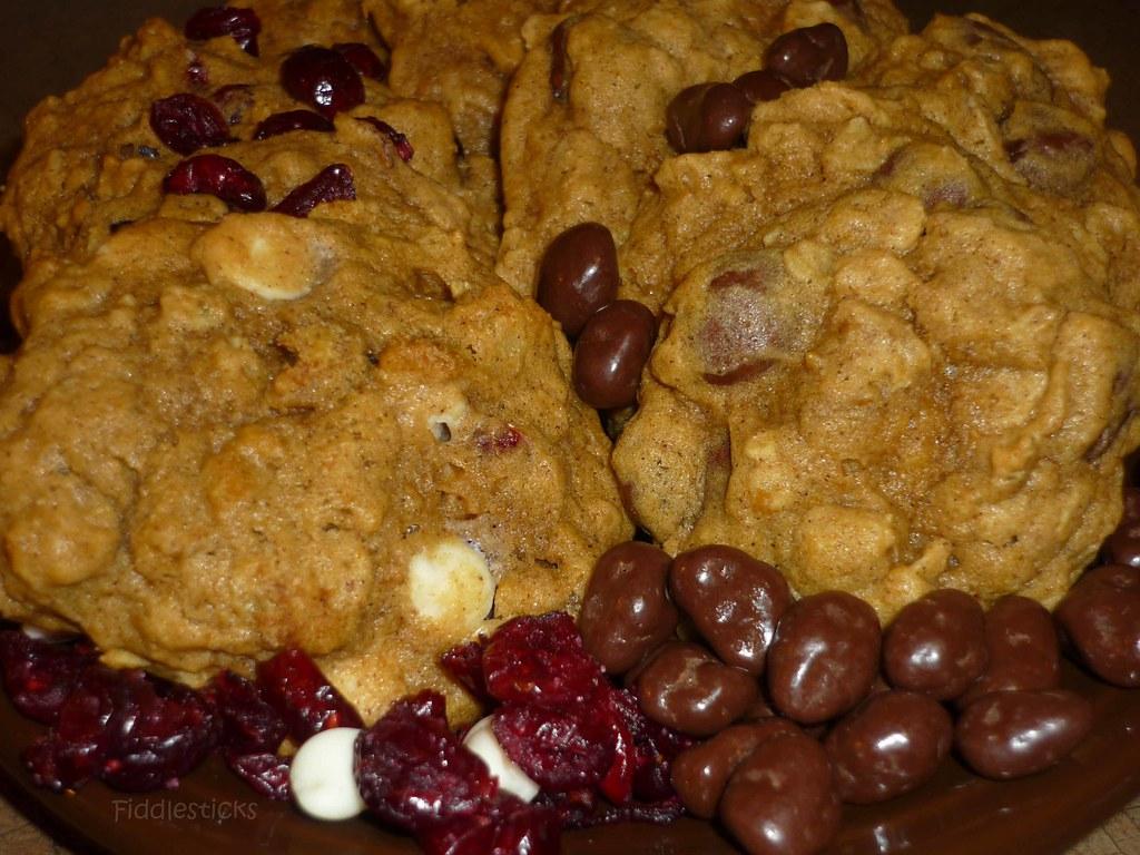 Pumpkin Oatmeal Cookies!