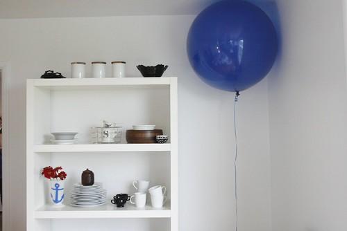 Finn's balloon...