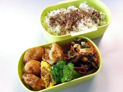 今日のお弁当 No.31 – 梅ゆかり