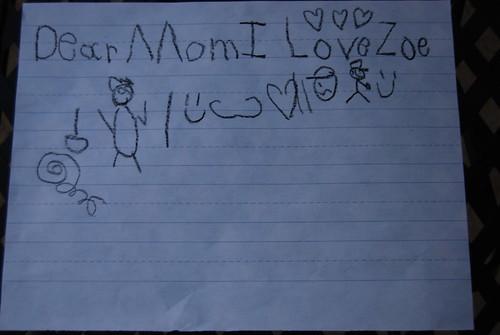 Dear Mom...