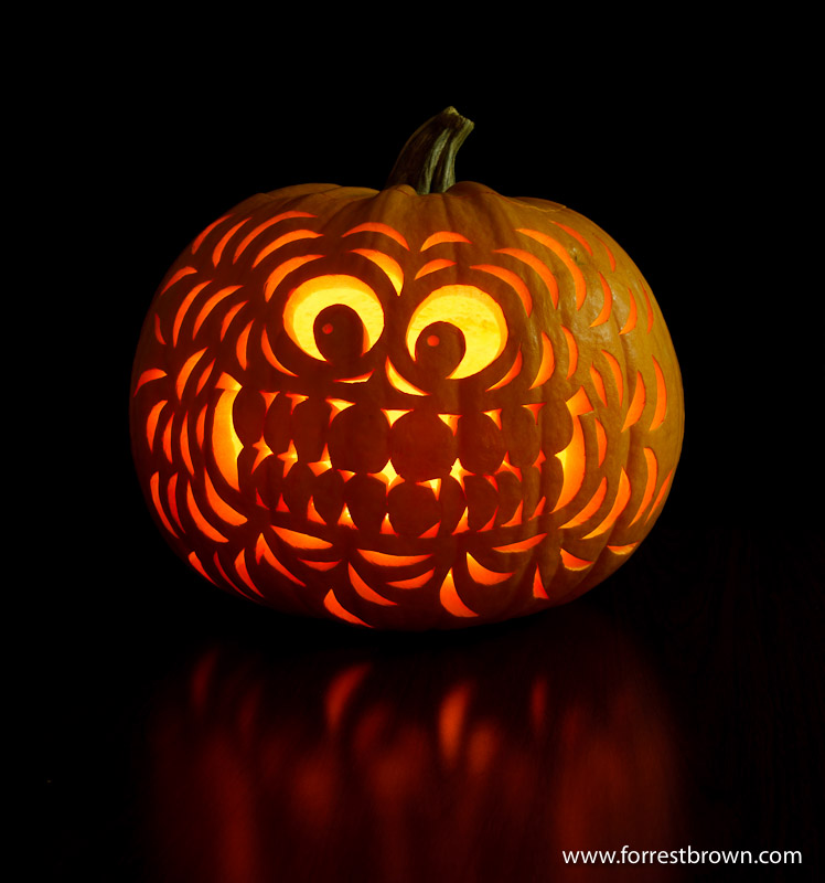 Halloween Pumpkin, Jack-o-Lantern, Extreme, Carved Pumpkin