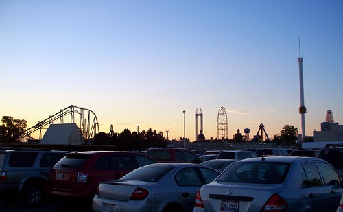 Cedar Point - Halloweekends Sunset