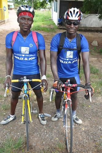 Ghanian racers
