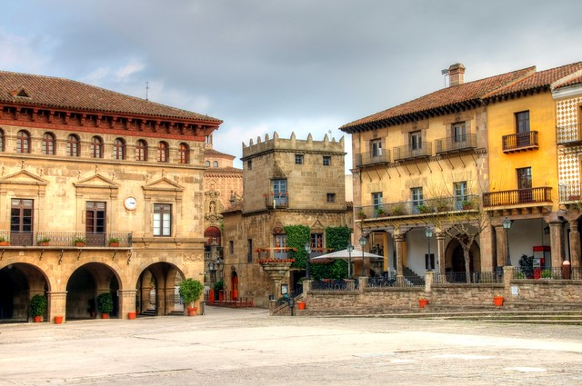 A Square in Baercelona