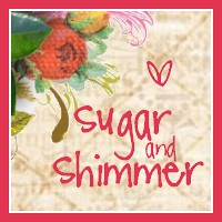 Sugar and Shimmer Button