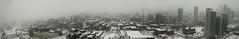 Winter Storm (Josh Jensen) Tags: winter urban snow toronto ontario canada storm cold warning canon buildings downtown cityscape skyscrapers wind panoramic blizzard joshjensen 400d rebelxti tgamwinterstorm2011