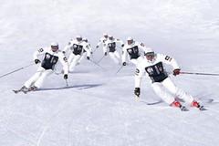 Synchronní lyžování - German Synchro Challenge 2011