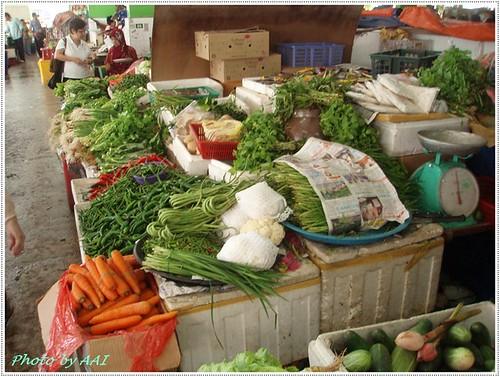 Veggie stall @ Central market