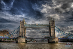 Tower Bridge (SteveOuellette) Tags: hdr londontowerbridge