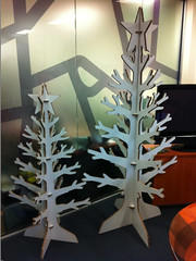 X-Board - Printed Display Trees 100% Repulpable