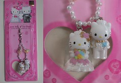 2002 Sanrio Hello Kitty Korea Limited cell phone strap (Hello Kitty and Dear Daniel in Traditional Wedding Clothes) (kittystars) Tags: wedding daniel hellokitty korea sanrio strap deardaniel gotochi
