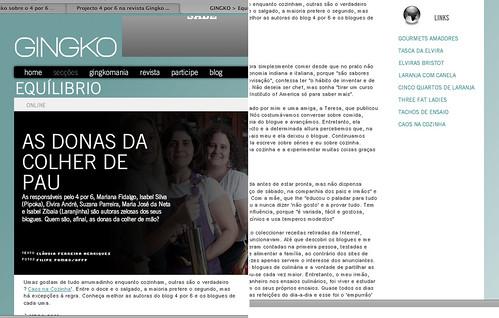 Revista gingko - projecto 4 por 6