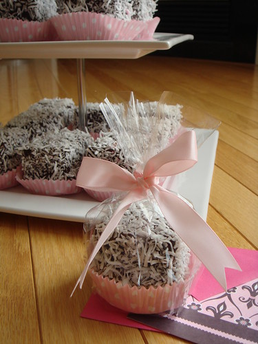 Blood Orange Lamingtons: Valentines For Friends
