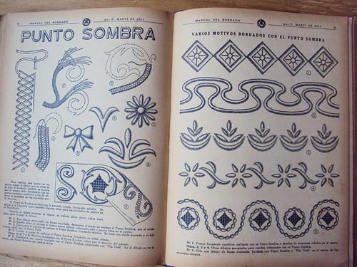Manual del Bordado. Curso de Labores. F. Martí de Gili