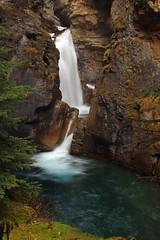 Banff NP Johnston Canyon Falls (the PODDER) Tags: nature landscape waterfall banffnationalpark johnstoncanyon