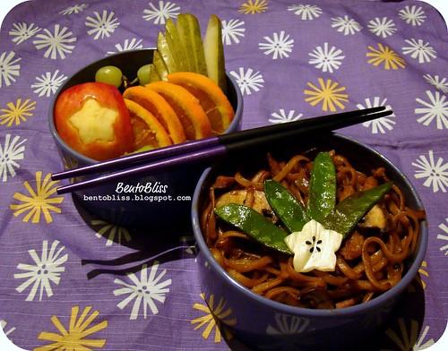 Terriyaki Pork Noodle Bento