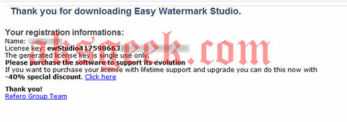 easy watermark studio license key