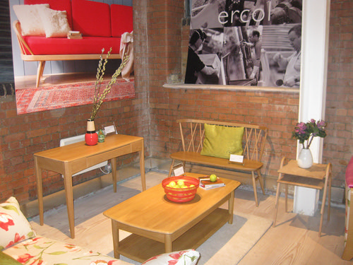 ercol occasionals at Press Show 2011