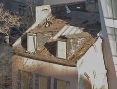 35 Cooper SQ.: Destroyed Roof Detail