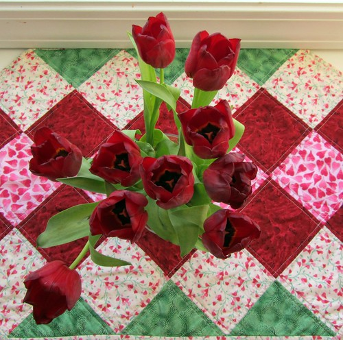 Tulips on Runner