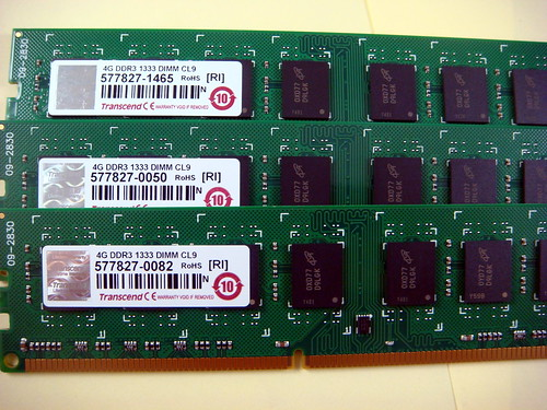 創見 DDR3 4GB 1333