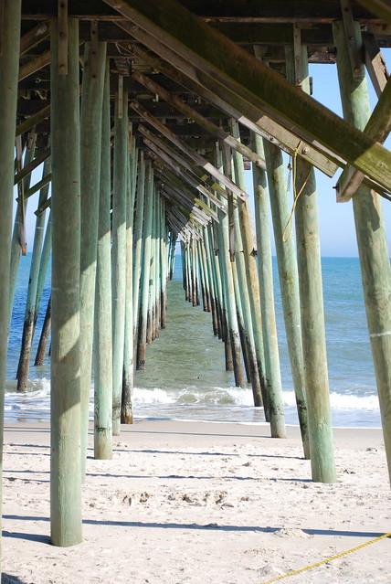 under the pier 1