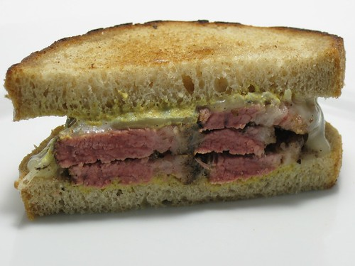 Pastrami (brisket) sandwich
