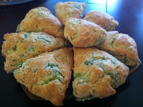 Veggie scones
